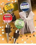 Holiday Wine Stoppers Personalized