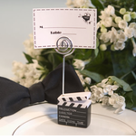 Hollywood Theme Clapboard Placecard Holder