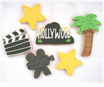 Hollywood Theme Cookie Favors