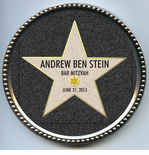 Hollywood Walk Of Fame Chocolate Disc - Personalized
