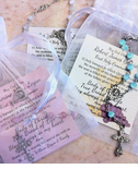 Holy Communion Favor - Rosary in Bag