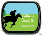 Horse Riding Parties Favors Mint Tins