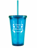 Insulated Tumblers with Lids and Straws