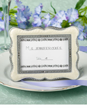 Ivory Photo Frame Placecard Holder