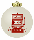 Las Vegas Christmas Ornaments Favors