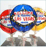 Las Vegas Lollypop Favors  - Set of 4