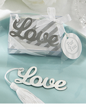 Love Story Theme Party Bookmark
