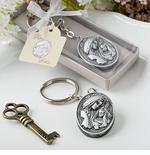 Madonna and Child Baptism Key Chains