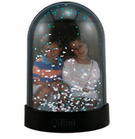 Make Your Own Photo Snow Globe Magnet