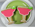 Margarita Cookies Favors