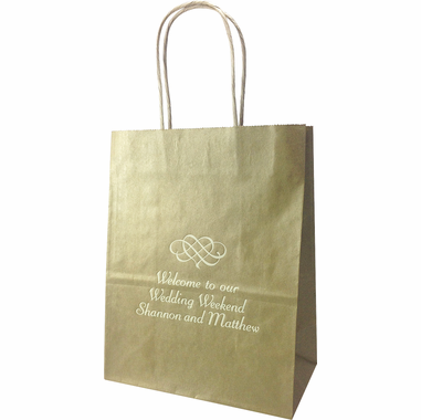 Medium, Personalized Gift Bags (Set of 25)