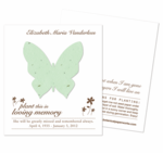 Memorial Cards Funeral Favors
