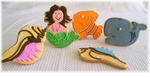 Mermaid Cookies - Under the Sea Cookies