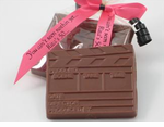 Milk Chocolate Clapboard Favors
