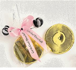 Milk Chocolate Gold Record Favors