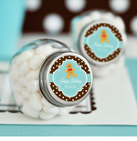 Mini Glass Jars Christmas Favors