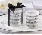 Music Birthday Party Candles - Set of Four