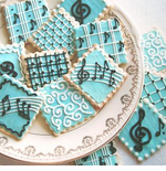 Music Cookies - Music Theme Party Favors