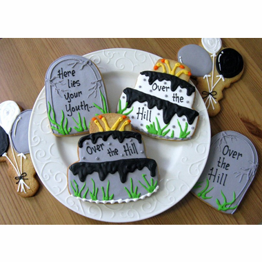 Over the Hill Cookie Favors