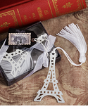 Paris Theme Party Favors Bookmark