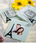 Paris Theme Party Photo Coasters Favors