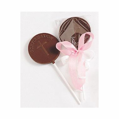 Party Favor Confirmation Chocolate Pop