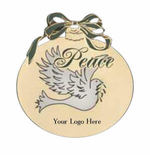 Peace Christmas Ornament - Personalized
