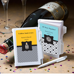 Personalized Anniversary Notebook Favors