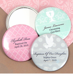 Personalized Baptism Favors Mirror