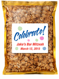 Personalized Bar Mitzvah Caramel Corn Favors