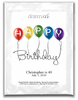 Personalized Birthday Cocktail Mixes