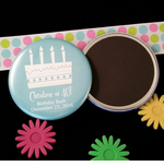 Personalized Birthday Magnets and Mirrors