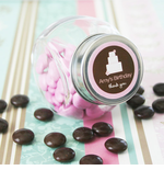Personalized Birthday Party Favor Mini Jars - Ships from CA