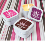 Personalized Candles Favors Birthday