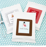 Personalized Christmas Favors - Hot Cocoa