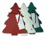 Personalized Christmas Favors - Mini Trees