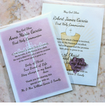 Personalized First Communion Prayer Card
