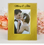 Personalized Gold Frames
