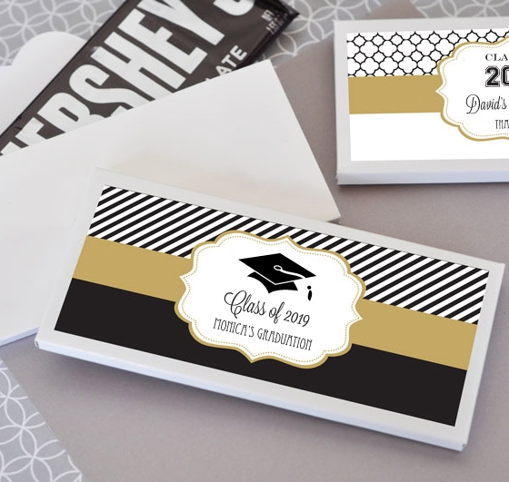 Personalized Graduation Candy Bar Wrappers Chocolate