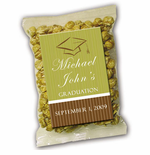 Personalized Label Graduation Caramel Corn