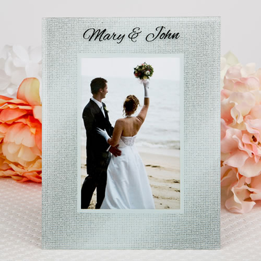 Personalized Silver Frames