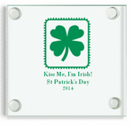 Personalized St Patricks Day Coasters