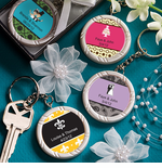 Personalized Sticker Key Chains
