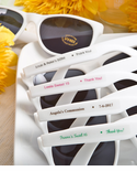 Personalized Sunglasses Party Favors - Custom Label