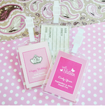 Personalized Sweet 16 Favors Luggage Tags