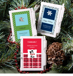 Personalized Winter Notebook Favor