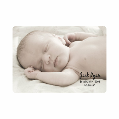Photo Baptism Cards - Playing Cards