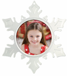 Photo Frame Ornaments Snowflake