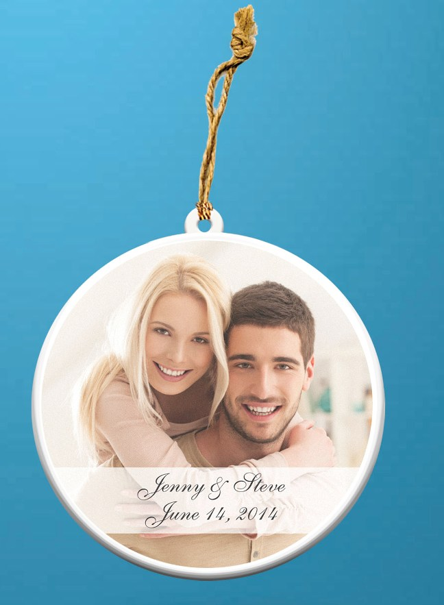Photo Ornaments Wedding Favors Photo Personalized Ornaments Personalized
