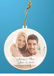 Photo Ornaments Wedding Favors